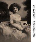 Vintage Portrait Of A Young...