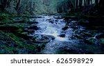 Babbling Brook At Dusk