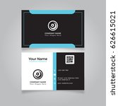 modern business card template... | Shutterstock .eps vector #626615021