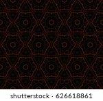 modern geometric seamless... | Shutterstock .eps vector #626618861