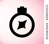 compass icon | Shutterstock .eps vector #626621411