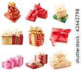 Nine Images Of Colorful Gifts...