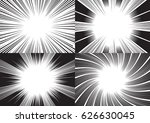 four templates for comic... | Shutterstock .eps vector #626630045