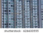 windows of tall buildings... | Shutterstock . vector #626633555