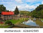 hacienda santa maria regla ... | Shutterstock . vector #626642585