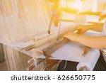 Weave Silk Cotton On The Manua...