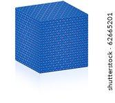 christmas box | Shutterstock . vector #62665201