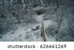 Ural Forest  Rock  Mountain An...