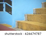 background of colorful stairs | Shutterstock . vector #626674787