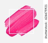logo art brush paint vector.... | Shutterstock .eps vector #626675921