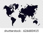 world map | Shutterstock .eps vector #626683415