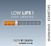 may 31st world no tobacco day.... | Shutterstock .eps vector #626687141