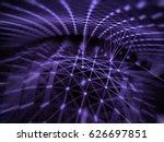 cyber virtual space technology... | Shutterstock . vector #626697851