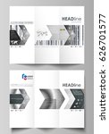 tri fold brochure business... | Shutterstock .eps vector #626701577