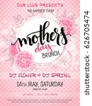 vector hand drawn mothers day... | Shutterstock .eps vector #626705474