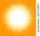 orange star burst for abstract... | Shutterstock .eps vector #626711849
