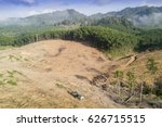 deforestation. logging....   Shutterstock . vector #626715515