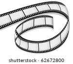 empty film on a white background | Shutterstock . vector #62672800