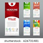 design roll up banner for... | Shutterstock .eps vector #626731481