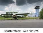Abandoned Airdrome And Stormy...