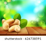 vector group of cashew nuts... | Shutterstock .eps vector #626738591