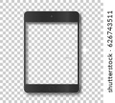 touch tablet body without... | Shutterstock .eps vector #626743511