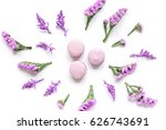 spring woman breakfast with... | Shutterstock . vector #626743691