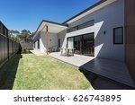 outdoor entertaining deck and... | Shutterstock . vector #626743895