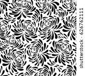 seamless motif pattern vector | Shutterstock .eps vector #626762111