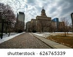 a city park with interesting... | Shutterstock . vector #626765339