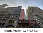 tall buildings with different... | Shutterstock . vector #626765561