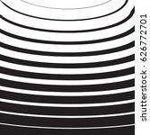 halftone radial pattern... | Shutterstock .eps vector #626772701