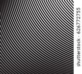 halftone radial pattern... | Shutterstock .eps vector #626772755