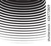halftone radial pattern... | Shutterstock .eps vector #626772809