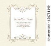vector  ornamental  decorative...   Shutterstock .eps vector #626781149
