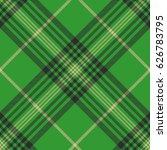 seamless plaid green tartan... | Shutterstock .eps vector #626783795