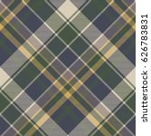 green blue classic check plaid... | Shutterstock .eps vector #626783831