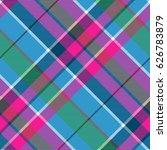 fabric textile blue pink green... | Shutterstock .eps vector #626783879