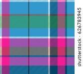 fabric textile blue pink green... | Shutterstock .eps vector #626783945