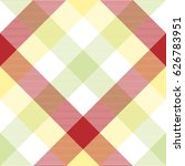 abstract plaid fabric texture... | Shutterstock .eps vector #626783951