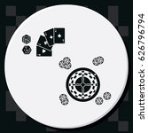 casino design elements with... | Shutterstock .eps vector #626796794