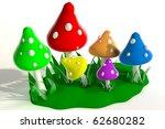 Beautiful Rainbow Mushrooms...