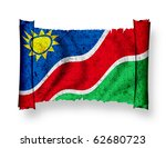 flag of namibia | Shutterstock . vector #62680723