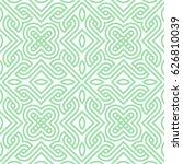 geometric seamless pattern.... | Shutterstock .eps vector #626810039