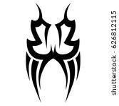 tattoo tribal vector designs.... | Shutterstock .eps vector #626812115