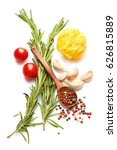 mediterranean food and drink... | Shutterstock . vector #626815889