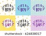 cute colored  invitation for a... | Shutterstock . vector #626838017