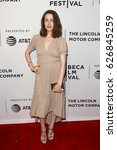 Small photo of NEW YORK-APR 22: Megan Boone attends the 'Literally, Right Before Aaron' screening at SVA Theatre during the 2017 TriBeCa Film Festival on April 22, 2017 in New York City.