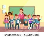 vector illustration group... | Shutterstock .eps vector #626850581