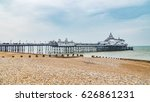View Of The Eastbourne Pier In...